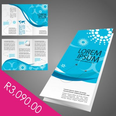 Full circle print flyer business card and brochure printing 5000 a4 folded brochures reheart Images